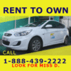 Magnetic Sign - Rent to Own Car Template - Custom Graphix