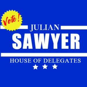 24″ x 18″ Yard Sign - Election Template - Custom Graphix