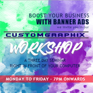 Advertising Banner - Seminar Template - Custom Graphix
