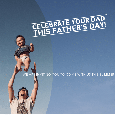 Advertising Banner - Father's Day Template - Custom Graphix
