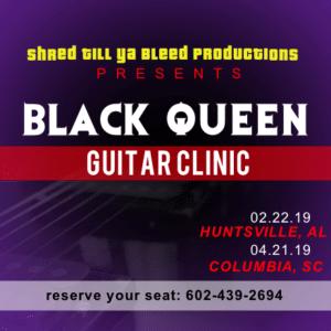 Advertising Banner - Guitar Clinic Template - Custom Graphix