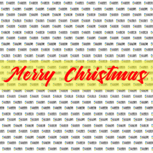8ft x 8ft Backdrop Banner - Merry Christmas Template - Custom Graphix
