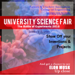 Advertising Banner - Science Fair Template - Custom Graphix