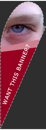 Tear Shaped Flags - Want This Banner? Template - Custom Graphix