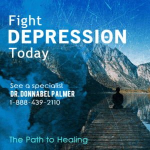 Advertising Banner - Fight Depression Template - Custom Graphix