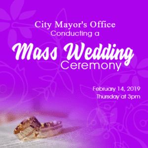 Advertising Banner - Mass Wedding Template - Custom Graphix