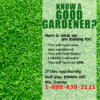 Advertising Banner - Gardeners Template - Custom Graphix