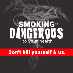 Non-profit Banner - Stop Smoking - Custom Graphix