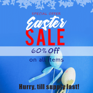 Customize Your Own Easter Banners - 60% Off on Sale Template - Custom Graphix