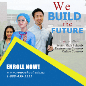 Customize Your Own School Banners - Build The Future Template - Custom Graphix
