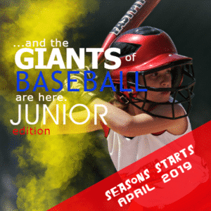Customize Your Own Baseball Banners - Junior Edition Template - Custom Graphix