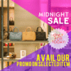 Customize Your Own Retail Banners - Midnight Sale Template - Custom Graphix