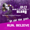 Customize Your Own Football Banners - Run Believe Template - Custom Graphix