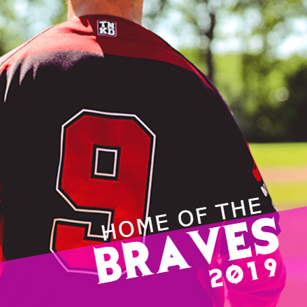 Customize Your Own Baseball Banners - Braves 2019 Template - Custom Graphix
