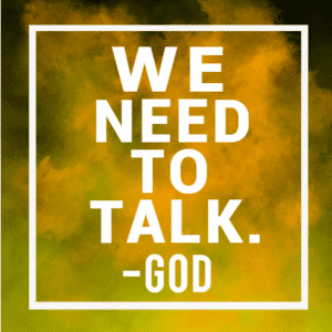 Customize Your Own Religious Banners - Talk to God Template - Custom Graphix