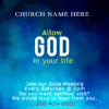 Customize Your Own Religious Banners - Bible Meeting Template - Custom Graphix