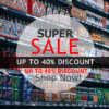 Customize Your Own Retail Banners - 40% Discount Template - Custom Graphix