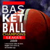 Customize Your Own Basketball Banners - Champions League Template - Custom Graphix