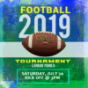 Customize Your Own Football Banners - Football Tournament Template - Custom Graphix