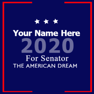 Political Banner - Senatorial - Custom Graphix
