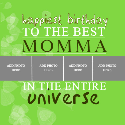 Birthday Banner - Best Momma - Custom Graphix