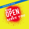 Grand Opening Banner - Now Open - Custom Graphix