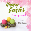 Customize Your Own Easter Banners - Mayor's Greeting Template - Custom Graphix