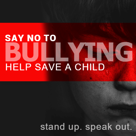 Non-profit Banner - No Bullying - Custom Graphix