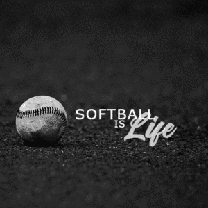 Customize Your Own Softball Banners - Softball is Life Template - Custom Graphix