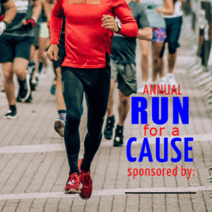 Customize Your Own Sponsor Banners - Run For a Cause Template - Custom Graphix