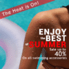 Customize Your Own Swimming Banners - The Heat is On Template - Custom Graphix