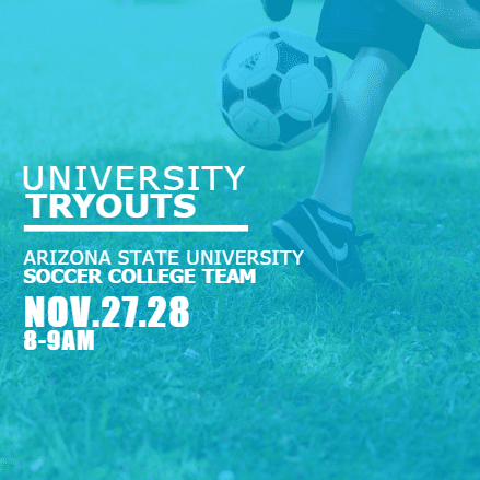 Customize Your Own Soccer Banners - University Tryout Template - Custom Graphix