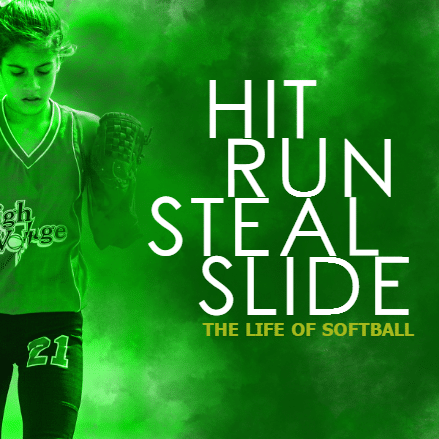 Customize Your Own Softball Banners - Hit, Run, Slide Template - Custom Graphix