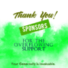 Customize Your Own Sponsor Banners - Overflowing Support Template - Custom Graphix