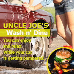 Customize Your Own Car Wash Banners - Wash and Dine Template - Custom Graphix