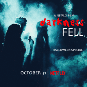 Customize Your Own Halloween Banners - Darkness Fell Template - Custom Graphix