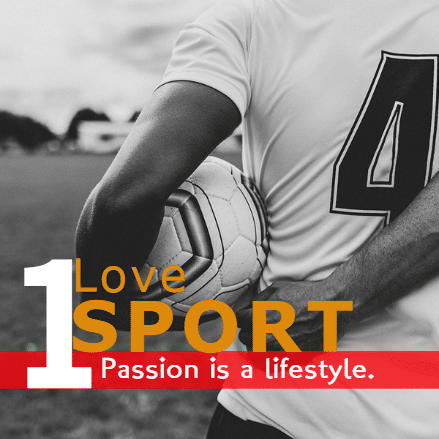Customize Your Own Soccer Banners - Love Sport Template - Custom Graphix