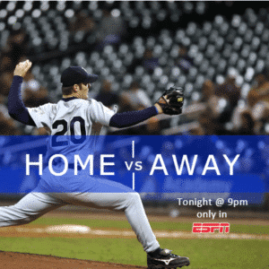 Customize Your Own Baseball Banners - Home vs Away Template - Custom Graphix