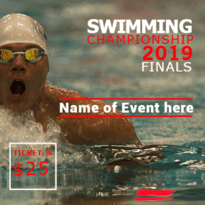 Customize Your Own Swimming Banners - 2019 Finals Template - Custom Graphix
