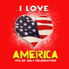 Customize Your Own 4th of July Banners - Love America Template - Custom Graphix