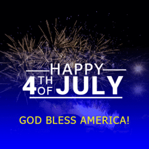Customize Your Own 4th of July Banners - God Bless America Template - Custom Graphix
