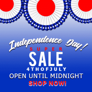 Customize Your Own 4th of July Banners - Super Sale Template - Custom Graphix