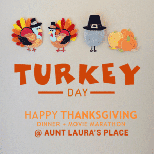 Customize Your Own Thanksgiving Banners - Turkey Day Template - Custom Graphix