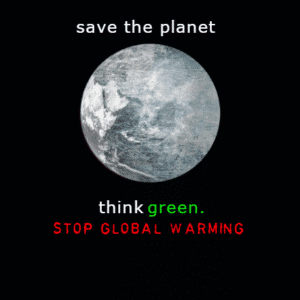 Customize Your Own Political Banners - Save The Planet Template - Custom Graphix