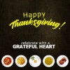 Customize Your Own Thanksgiving Banners - Food Template - Custom Graphix
