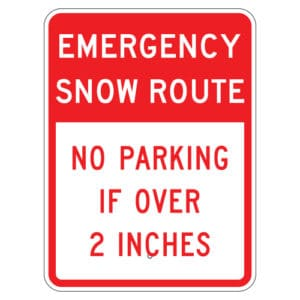 Customize Your Own Aluminum Metal Signs - Emergency No Parking Template - Custom Graphix